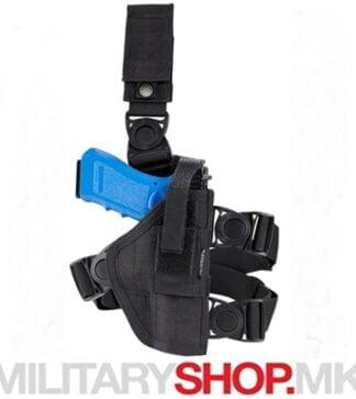 Футрола за околу нога црна боја - мамба