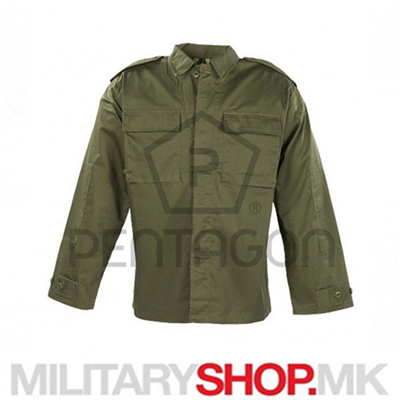Pentagon тактичка кошула Bdu rip-stop зелена боја