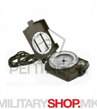 Професионален воен компас Prizmatic од метал