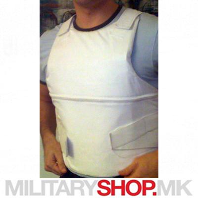 VIP( дипломатски) заштитен панцир во бела боја