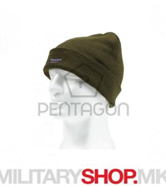 Зелена капа со Thinsulate постава