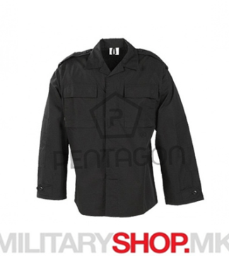 Pentagon тактичка кошула Bdu rip-stop црна боја
