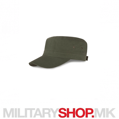 Панама зелена капа