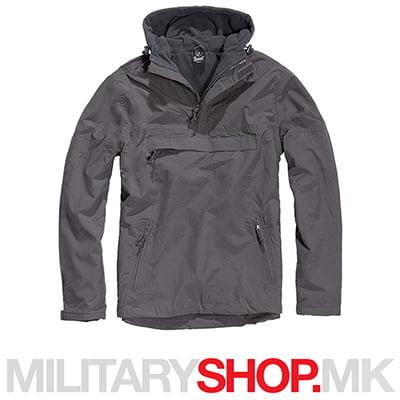 Brandit windstopper windbreaker црна јакна