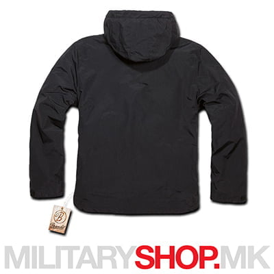 Brandit windstopper windbreaker црна јакна