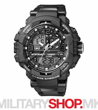 Q&Q GW86J001Y дигитални и аналогни спортски часовник