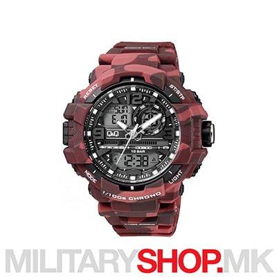 Q&Q GW86J007Y дигитални и аналогни рачен часовник