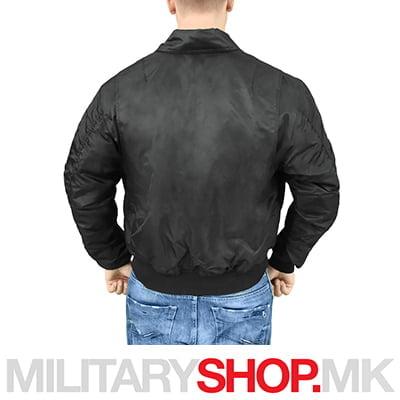 Црна јакна CWU Surplus