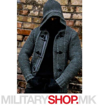 Сив џемпер Assassin Armoline