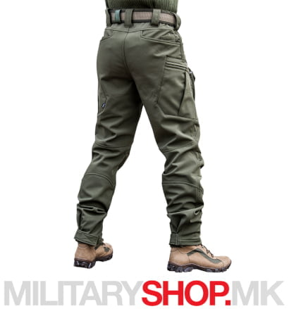 Зелени панталони Division Softshell Armoline